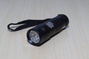 12 LED-UV-Taschenlampe