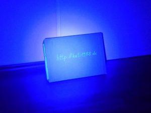 21-LED-Lampe aus 1m Entfernung